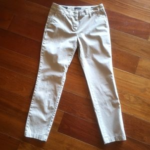 Peserico Sign Flat Front Chino Pants Italy Size 42